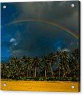 Hanalei Rainbow Acrylic Print