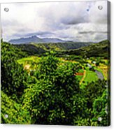 Hanalei Valley Acrylic Print