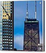 Hancock Building In Chicago  Acrylic Print