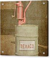 Hand-crank Oil Pump Acrylic Print