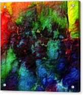 Hand Dyed 5 Acrylic Print