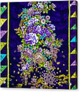 Hand Made Quilt Acrylic Print