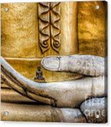 Hand Of Buddha Acrylic Print