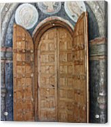Hand-painted Gate Acrylic Print