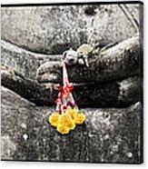 Hands Of Buddha Acrylic Print