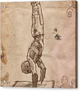 Handstand Acrylic Print