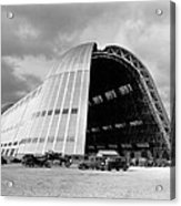 Hangar One At Moffett Field Acrylic Print by Underwood Archives