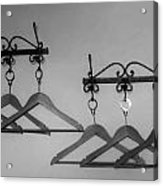 Hangers Acrylic Print by Dany Lison