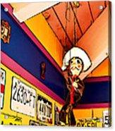 Hanging Around Acrylic Print