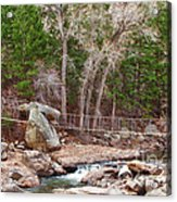 Hanging Bridge Acrylic Print