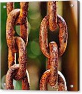 Hanging Chain Acrylic Print