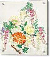 Hanging Flowers Acrylic Print