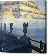Hanging Gardens Of Babylon Acrylic Print