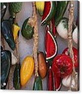 Hanging Kitchen Decorations Playa Del Carmen Mexico Acrylic Print