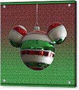 Hanging Mickey Ears 02 Acrylic Print