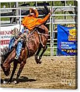 Hanging On For 8 Seconds Acrylic Print