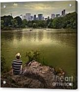 Hanging Out In Central Park Acrylic Print