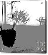 Hanging Pot Dig Acrylic Print