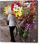 Hanoi Flowers 01 Acrylic Print