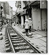 Hanoi Lifestyle Acrylic Print