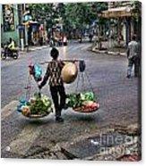 Hanoi Street Life II Acrylic Print