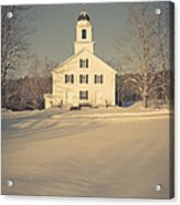 Hanover Center Church Etna New Hampshire Acrylic Print