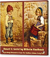 Hansel And Gretel Brothers Grimm Acrylic Print