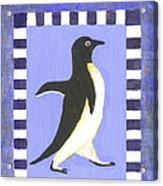 Hanukkah Penguin Two Acrylic Print