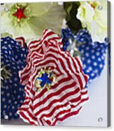 Happy 4th Of July America Acrylic Print