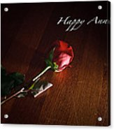 Happy Anniversary Acrylic Print