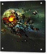 Happy Apocalypse Acrylic Print