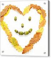 Happy Autumn Acrylic Print