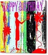 Happy Birthday 7 Acrylic Print