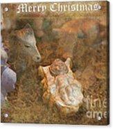 Happy Birthday Jesus Acrylic Print
