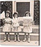 Happy Birthday Retro Photograph Acrylic Print