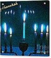 Happy Chanukah Acrylic Print