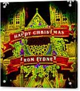 Happy Christmas From Sydney Acrylic Print