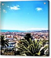 Happy Easter By My View 🇫🇷 Acrylic Print