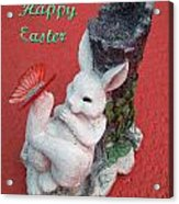 Happy Easter Card 5 Acrylic Print