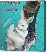 Happy Easter Card 6 Acrylic Print
