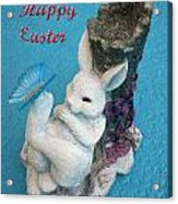 Happy Easter Card 7 Acrylic Print