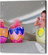 Happy Easter 3 Acrylic Print