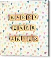 Happy Ever After Acrylic Print