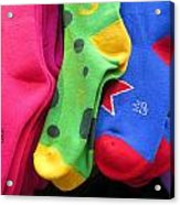 Wear Loud Socks Acrylic Print