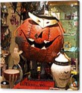 Halloween This Way Acrylic Print