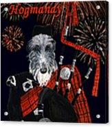Happy Hogmanay Acrylic Print