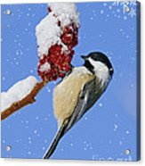 Happy Holidays... Acrylic Print by Nina Stavlund