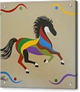 Happy Horse Acrylic Print