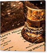 Happy Hour Acrylic Print