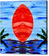 Happy Island Acrylic Print